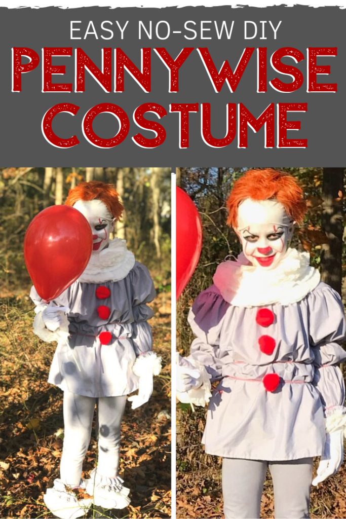 Pinterest- Kids DIY Pennywise Costume For Less